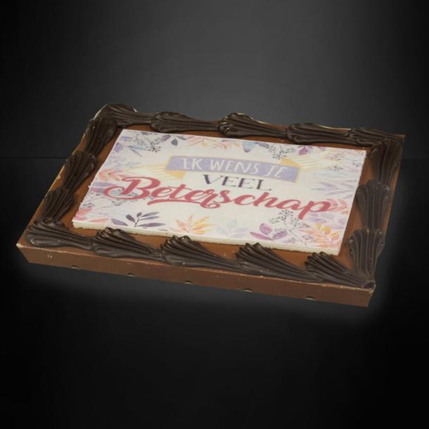 Afbeelding van Chocolade wensreep