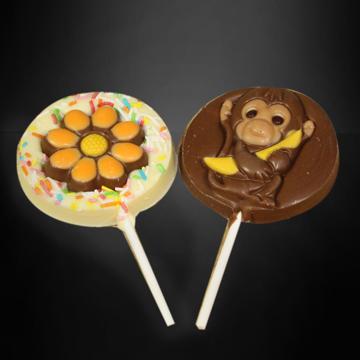 Afbeeldingen van Chocolade lolly