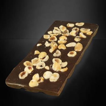 Afbeeldingen van Chocolade reep puur noot