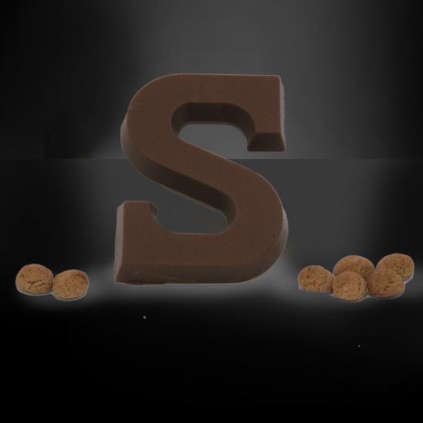 Afbeelding van Chocoladeletter klein